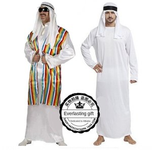 Halloween Masquerade cosplaycostume adulte vêtements masculins prince arabe Acting vêtements costume Dubaï