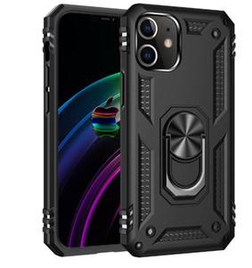 Militar ARMOR 360 Protección del teléfono móvil para el iPhone 12 11 Pro max Casos Iphone XR X XS Max Samsung S20 Note20 LG Stylo6 K51 K50S Volver Armadura
