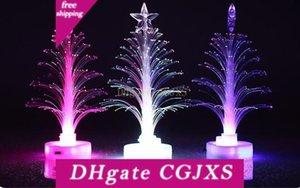 Led 빛 -Emitting 크리스마스 트리 다채로운 섬유 트리 시뮬레이션 크리스마스 이브 램프 크리스마스 선물 도매