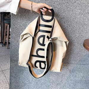 Canvas Bag New Fashion Women Oversize Shopping Bags Lady Shoulder Bag Large Capacity Handbags
