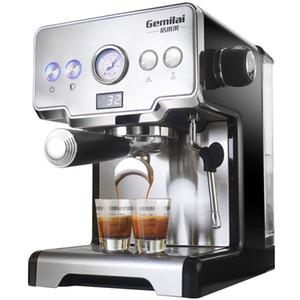 Süt Kabarcık Yarı-otomatik İtalyan Machine ile Ticari Kahve Makinesi 15Bars Espresso Kahve Makinesi