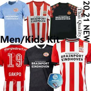 MEN + KIDS 20 21 ПСВ футбол Джерси 2020 2021 футбол рубашка Malen Камиза де Futebol IHATTAREN Дамфрисе GAKPO Брума ЛАММЕРС 19 HOME