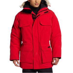 Wasserdicht Ca windundurchlässige Manteau Parka Homme Winter-Jacken-Oberbekleidung Big Pelz Kapuze Fourrure Manteau Daunenjacke Mantel Hiver Doudoune T02
