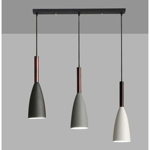 Artpad Nordic minimalista Lampada a sospensione attaccatura registrabile Filo d'Soggiorno Cucina Cafe 1/3 capi Hanging luce E27