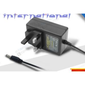 by dhl or ems 100pcs 24V1A high quality AC 100V-240V Converter Adapter DC 24V 1A Power Supply UK Plug 5.5mm x 2.1mm 1000mA