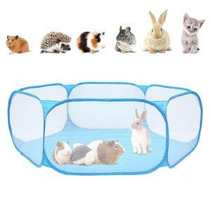 Portable Fence Pet pieghevole Small Dog Cat Animal Cage gioco giochi Recinzioni per Hamster cincillà e la Guinea Pigs