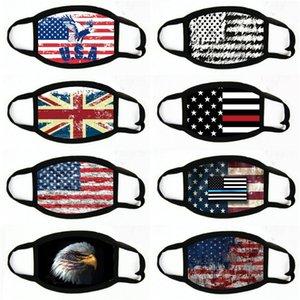 Manques de masques American Election Fournitures d'impression à la poussière Masque d'impression pour hommes Femmes Femmes Masque Masque N ° 548