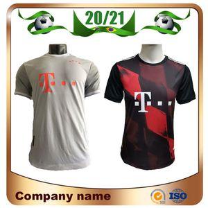 20/21 Player versión Bayern Munich Jersey de Futbol 2020 camiseta de fútbol Lewandowski MULLER SANE KIMMICH GNABRY MARTINEZ ALABA COMAN Fútbol