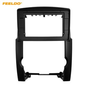FEELDO Car Stereo 10.1 Inch Big Screen Fascia Frame Adapter For Kia Sorento 2Din Dash Audio Fitting Panel Frame Kit #6593