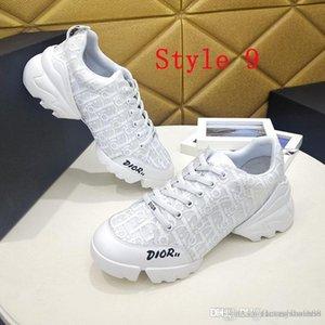 pattini casuali della signora molla traspirante cadere scarpe da corsa degli uomini di cuoio tela lusso low-top scarpe mocassini lettera della moda di New sh libero