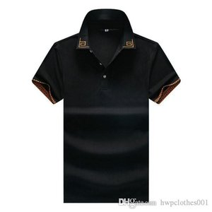 New Designer Polos Mens T Shirts Luxury fashion Casual retro Men Polo T Shirt Medusa Fashion High Street Mens Polos tees size M-3XL