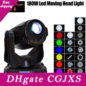 Tiptop Tp -L680 180w LED Moving Head Light Gleiche Ausgangsleistung 700w Entladung Glatte Pan / Tilt Motor Bewegungsgeschwindigkeit Einstellbare Gobo-Rad-Chan