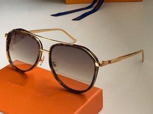 Nuovo 1203 progettista delle donne degli occhiali da sole struttura in metallo ovale occhiali da sole affascinante anti-UV400 occhiali lenti per il tempo libero stile elegante di alta qualità ca