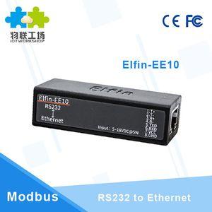 RS232 Porta Serial para Ethernet Device Server Conversor de rede sem fio Módulo de Suporte TCP / IP Telnet Protocolo Modbus EE10 Q213