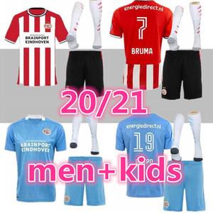 Yeni ERKEK ÇOCUK 20 21 PSV Eindhoven futbol forması 2020 2021 futbol forması MALEN camisa de futebol IHATTAREN DUMFRIES GAKPO BRUMA LAMMERS ANA