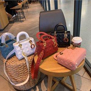 2020 últimas bolsas saco bolsa das mulheres de luxo da marca de moda selvagem populares sacos de couro de ombro vêm com caixa