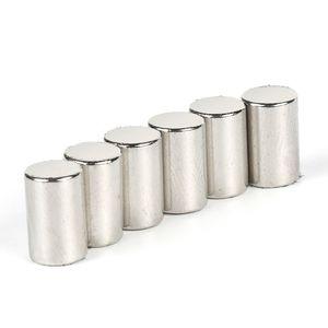 N52 fort 50pcs aimants Néodyme Disques Cylinder Rare Earth D6x10mm