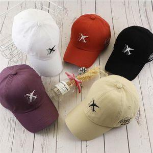[TOHUIYAN] Brand Women Bone Baseball Cap Airplane Embroidery Snapback Hats For Men Fashion Casquette Sports Caps Gorras Hombre T200615