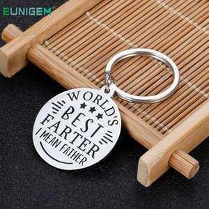 Best Step Keychain Gift New Dad Fathers Day You Wedding Gifts for Father From Son Daughter