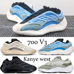Nueva Azarath corredor de la onda 700 V3 zapatos corrientes de Kanye West reflectante Azael Alvah OG Srphym Glow In The Dark mujeres de los hombres de baloncesto zapatillas de deporte