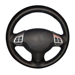 Car Steering Wheel Braid For Mitsubishi Lancer EX Mitsubishi Outlander ASX Colt Pajero Sport custom Steering Cover