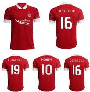nouveau 20 21 Aberdeen FC Football Maillots COSGROVE 2020 2021 FERGUSON Football Shirt CONSIDINE MCGINN Jersey