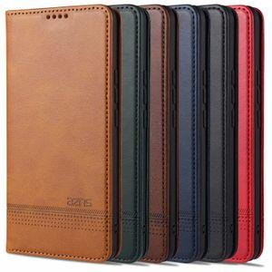 Aristocratic Original Colorful Wallet Magnetic Flip Cover Cute Ultra-Thin PU Leather Case For Xiaomi Mi 10 Lite