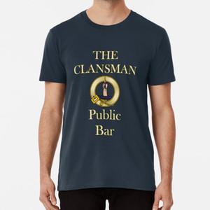 Clansman Public Bar Still Game Glasgow T shirt glasgow glasgae scotland slang patter still game bobbie bobby clansman