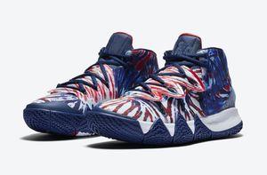 Niños Kybrid S2 Híbridos zapatos teñido anudado de mujeres de los hombres de baloncesto 2020 Mejor Irving 5s tienda zapatillas de deporte con el rectángulo de envío Tamaño 40-46