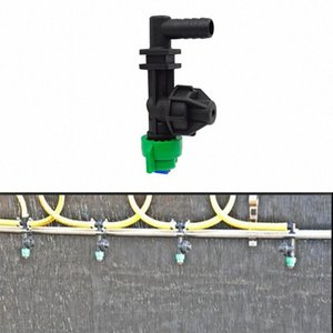 Pulverizador Acessórios Plastic10 Grau Anti-drift bico plano Fan pulverizador Bico de Agricultura 8ttK #