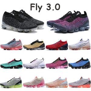 Fly 3.0 oreo uomini lampo cremisi FK scarpe rosa viola nero multi colore spiaggia sud tramonto tinta nobili scarpe da ginnastica nere rosse