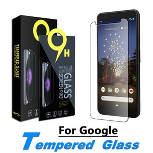 Schirm-Schutz für Google Pixel 3, Google Pixel X L3, Google Pixel 3a Pixel, 3a XL, 4 Pixel, 4XL Ausgeglichenes Glas-Film 0,33 mm mit Papierkasten