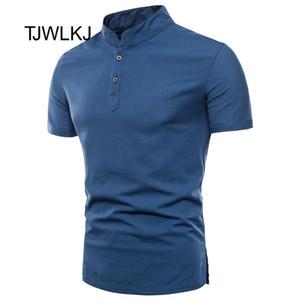 TJWLKJ été Vêtements pour hommes Chemise hommes Slim Casual Chemise à manches courtes 5XL Plus Size