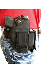 Tactical Nylon gun holster with magazine pouch for Ruger Security-9 Compact