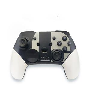 وحدة التحكم اللاسلكية بلوتوث gamepad جويستيك لعبة لوحة تحكم صدمة مزدوجة للكمبيوتر / جهاز الروبوت / Nitendo Switch Console