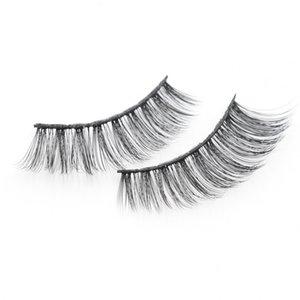 Natural False Eyelashes Fake Lashes Thick Long Eye Lashes Wispy Multi-layer Lifelike Long-length Fiber Eyelashes Customize