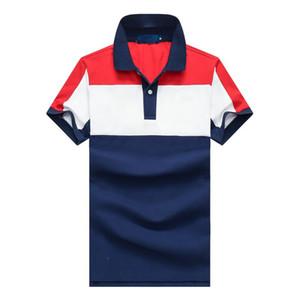 Embroidery Short sleeve poloshirt men The choice of summer Hot Sale classic fashion big horse Short Sleeve men's Shirt