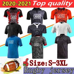 새로운 2020 뉴질랜드 럭비 유니폼 슈퍼 새로운 2019 월드컵 뉴질랜드 럭비 저지 백년 주년 기념 에디션 셔츠는 S-3XL을