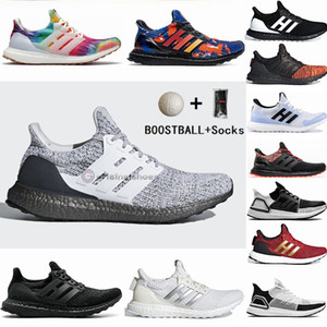 Adidas Alta Qualidade Ultraboost 3.0 4.0 Tênis de Corrida Das Mulheres Dos Homens Ultra Boost 19 20 3.0 III Primeknit Executa Preto Branco Esportes Sneaker