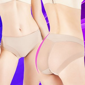 zCDct 18 nuova sexy Gao breifs mutande mutande tun traspirante di doppio strato Zhong ku addome TI mutandine Yao