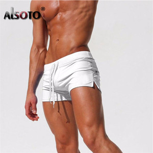 2020 Summer Sexy Новый пляж шорты мужчин купальник вскользь мужские шорты Gyms Sunga Купальники Boardshorts бегуны Стволы майонеза Homme