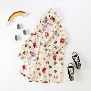 Pou9x 11Mee para roupas de proteção capa de assento mochila infantil de proteção com zíper de uma peça meninos vestuário poncho e meninas do bebê s