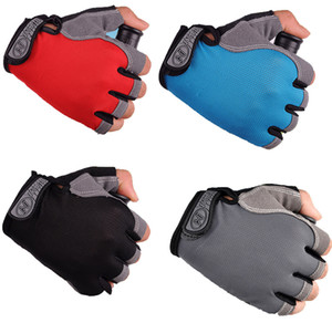 Cycling Gloves Bicycle Gloves Anti Slip Shock Breathable Half Finger Short Sports Gloves Accessories for Men Women