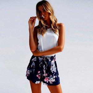 2PBKh Yaratıcı Stil 2020 Spring Street trendy kadın Spring Street Moda etek elbise elastik etek dört taraflı baskılı