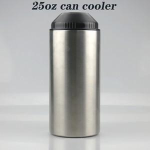 25 oz puede enfriar para la botella de vino, el vaso de acero inoxidable puede aislar aislante aislante aislante aislamiento en frío, puede enviar envío gratuito