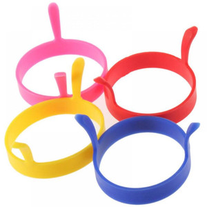 Hot Kitchen Silicone Fried Fry Frier Oven Poacher Egg Poach Pancake Ring Mould Tool Wholesale LX2887