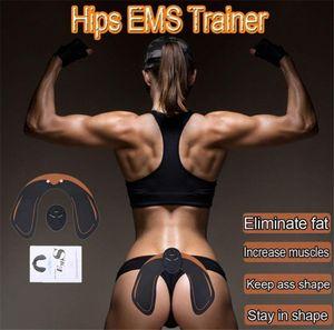 EMS EMS الكهربائية تدليك العضلات مشجعا مدرب مكافحة السيلوليت قابلة للشحن الأرداف رفع محسن لهجة عجينة جهاز مدلك