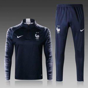 2020 FFF Survêtement MAILLOT DE FOOT Barcelone France Portugal survetement FOOTBALL 2 STAR Griezmann MBAPPE survêtements de formation