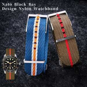 Sports Nylon Watch Strap for Oris Citizen Watchband Seamaster 007 Black Bay PELAGOS Bracelets Accessories GMT 20mm 22mm Zulu Nato