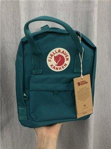 مسؤول Fjallraven Kanken 14 لون كلاسيكي حقيبة الظهر للجنسين كل يوم المدرسية حقيبة السفر حقيبة الطفل